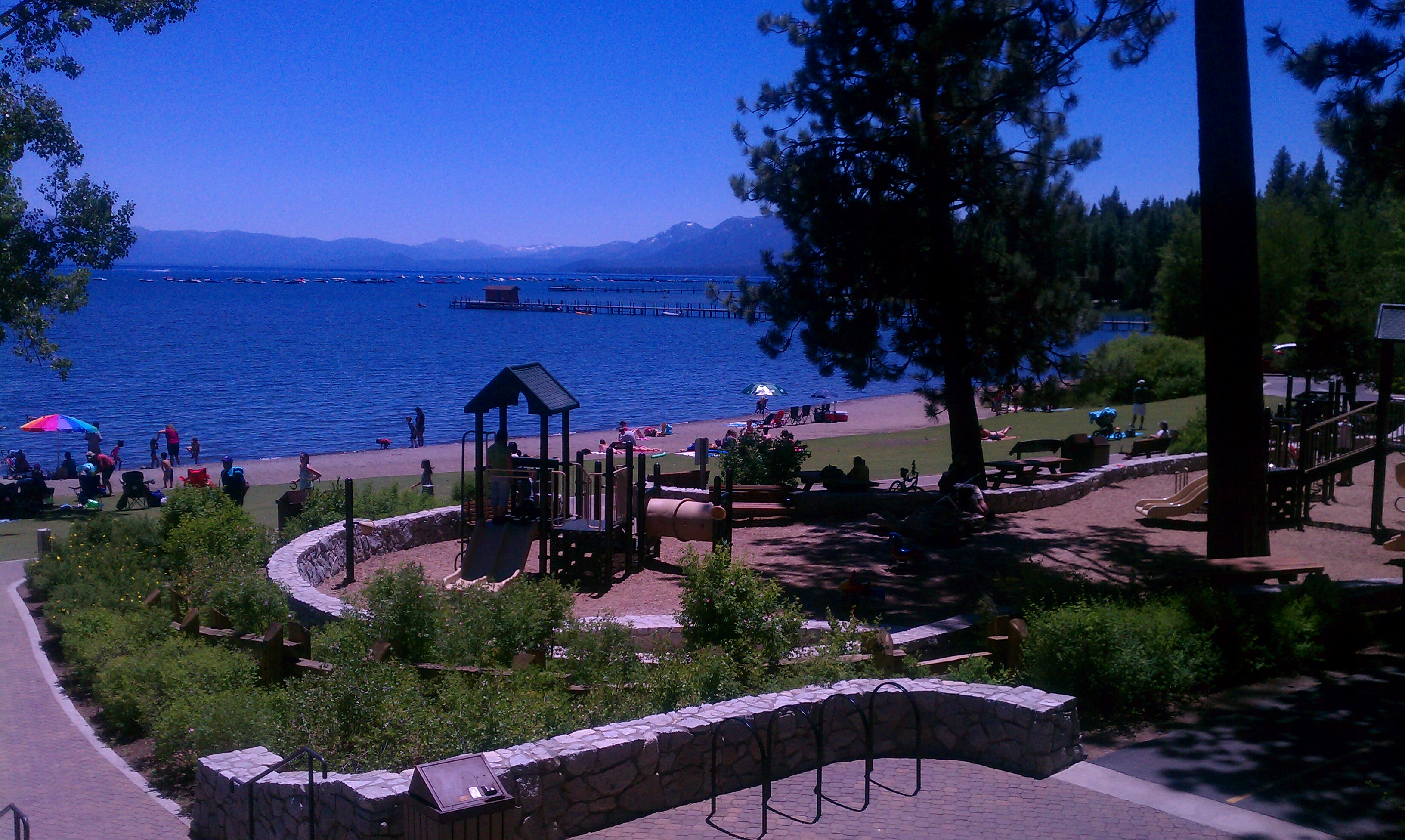 Tahoe City Commons Beach  Image 1
