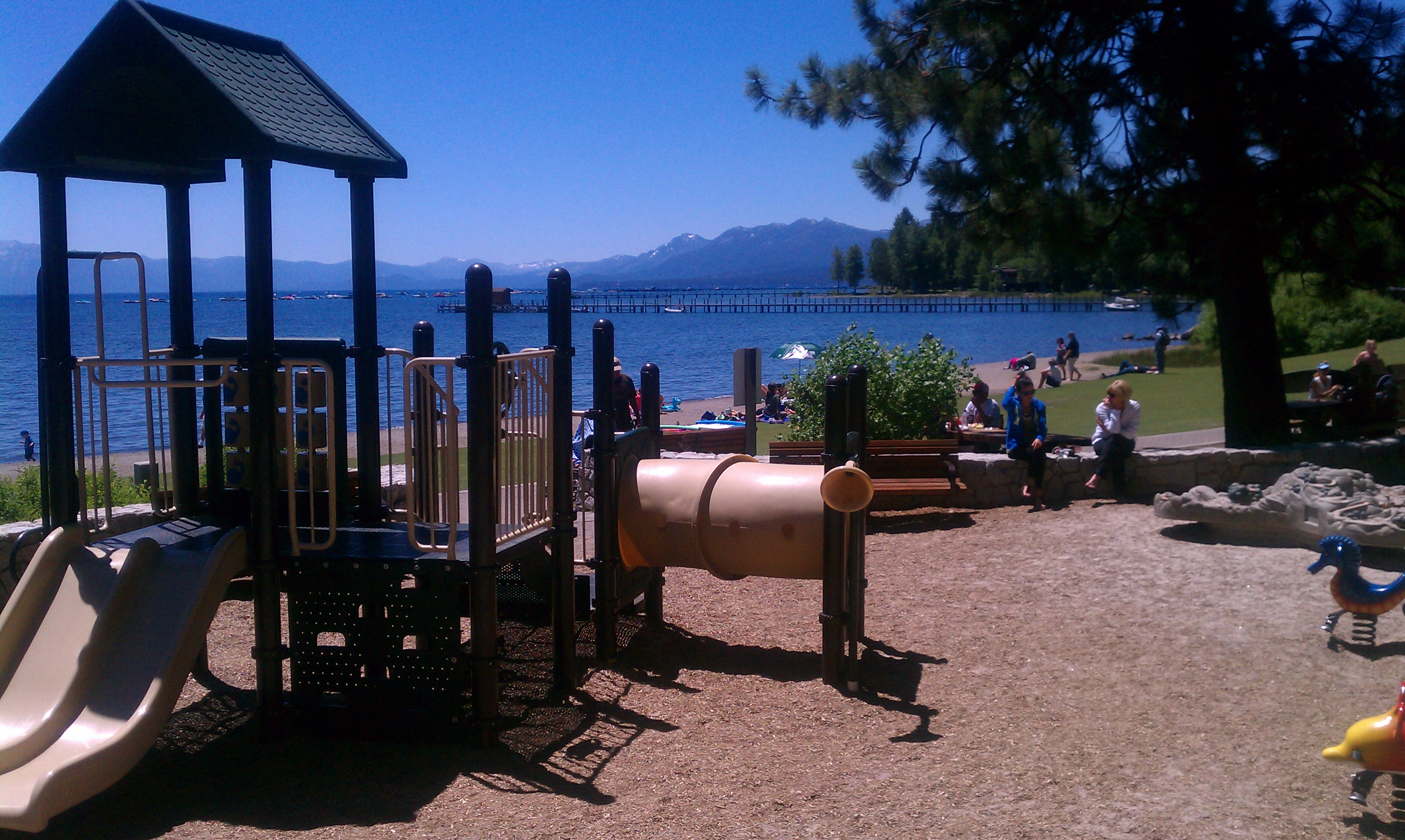 Tahoe City Commons Beach  Image 3