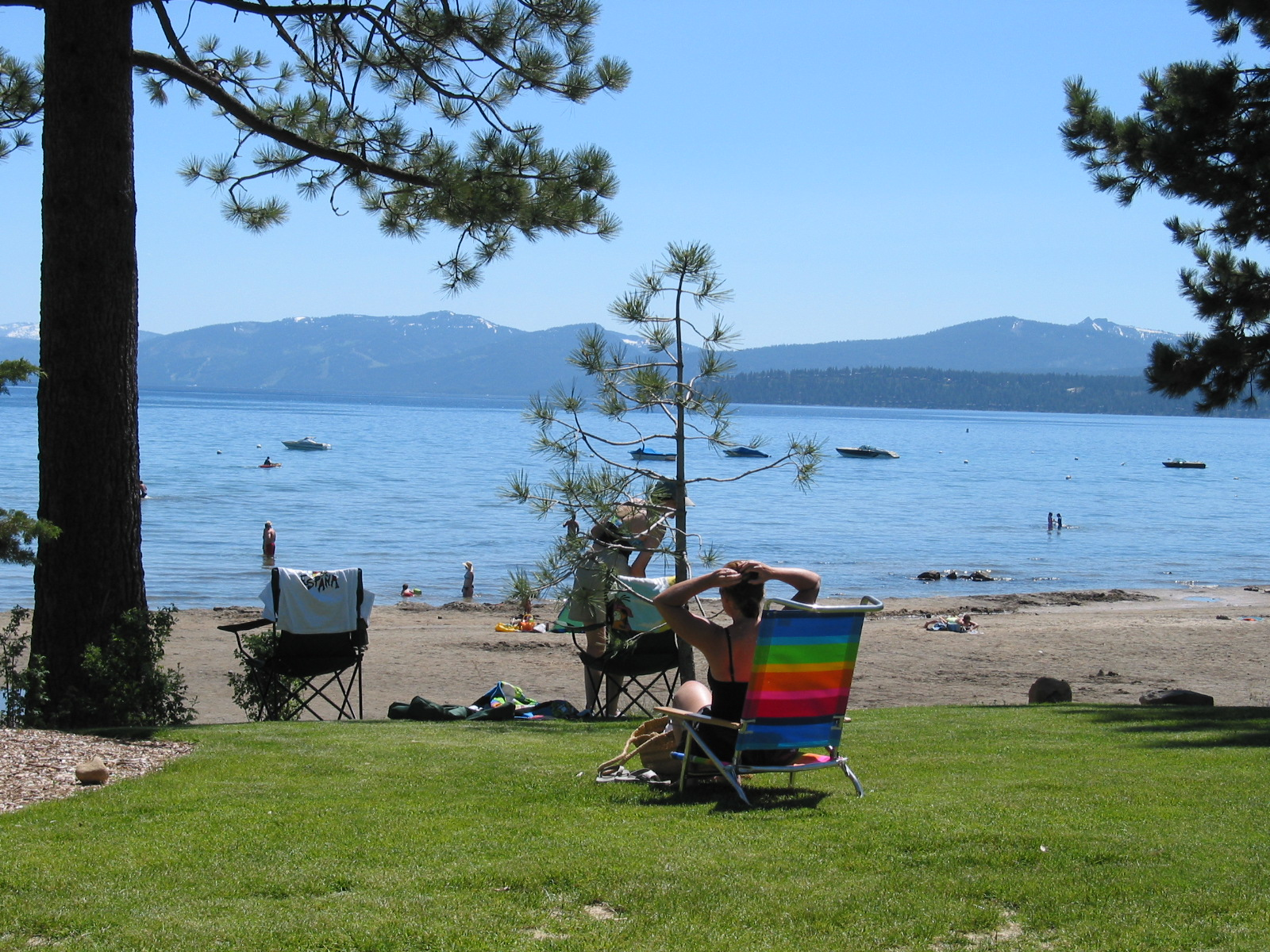 North Tahoe Beach  Image 5