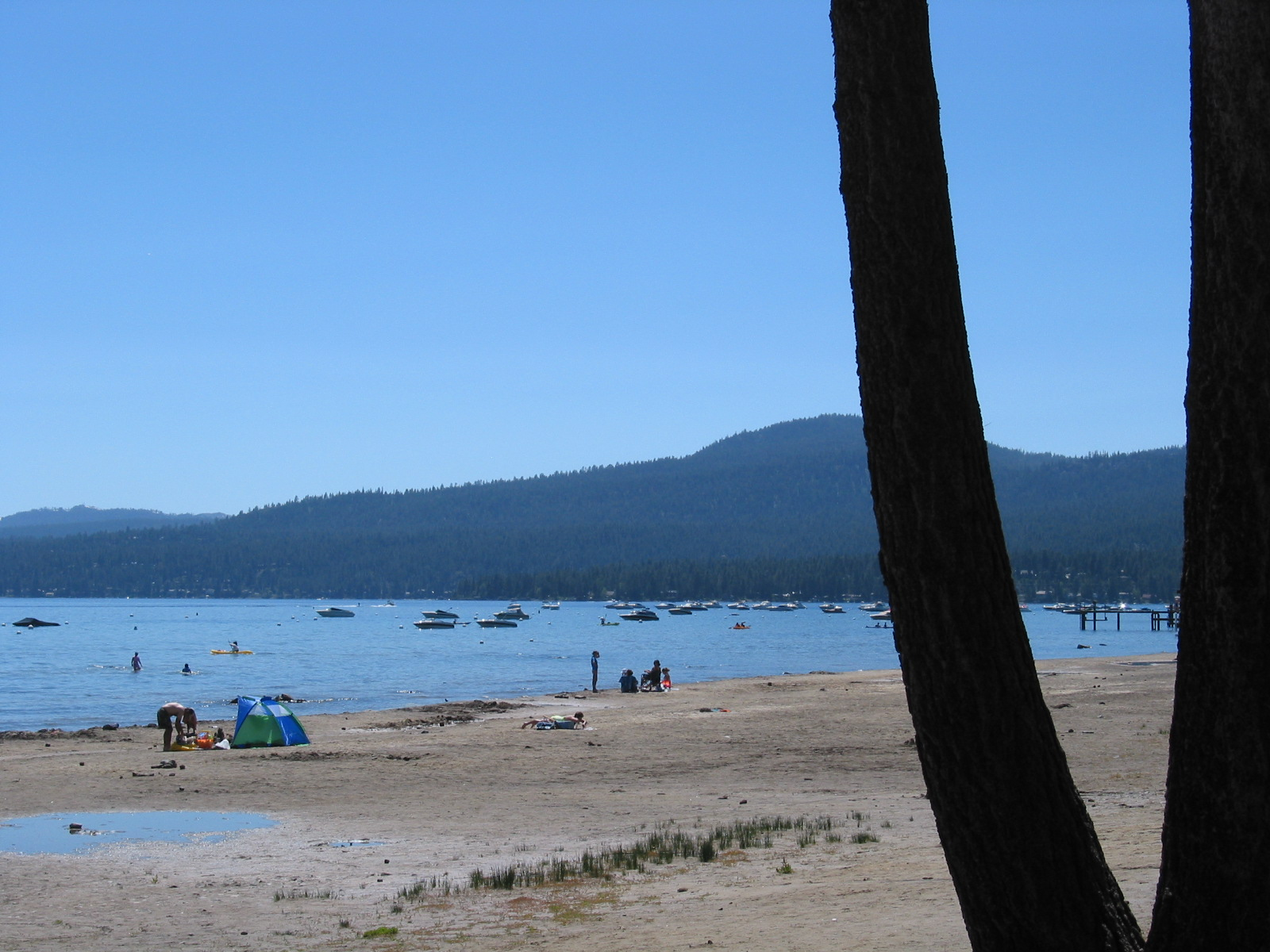 North Tahoe Beach  Image 4