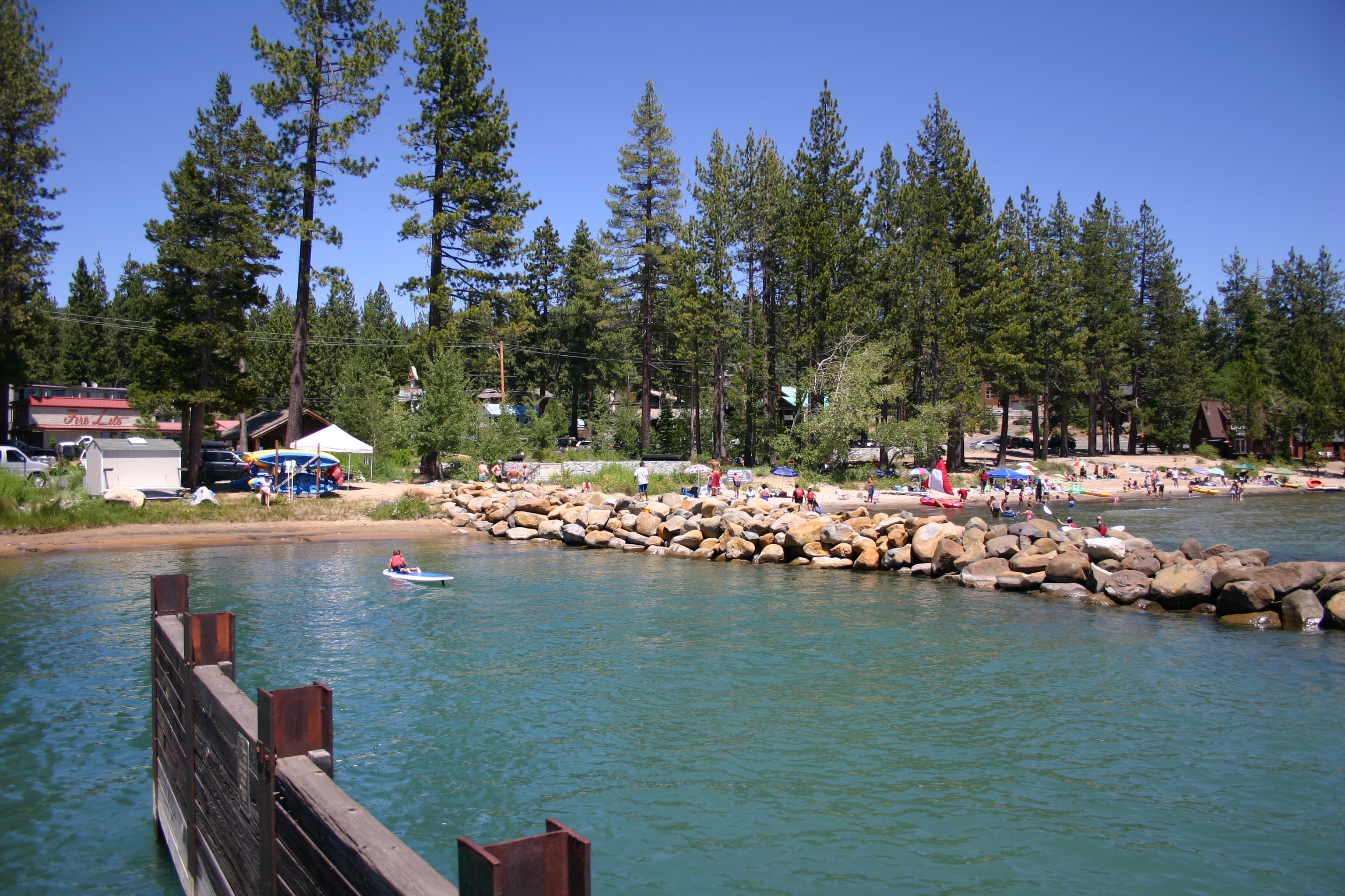 Tahoe Vista Boat Launch / Agatam Beach Image 3