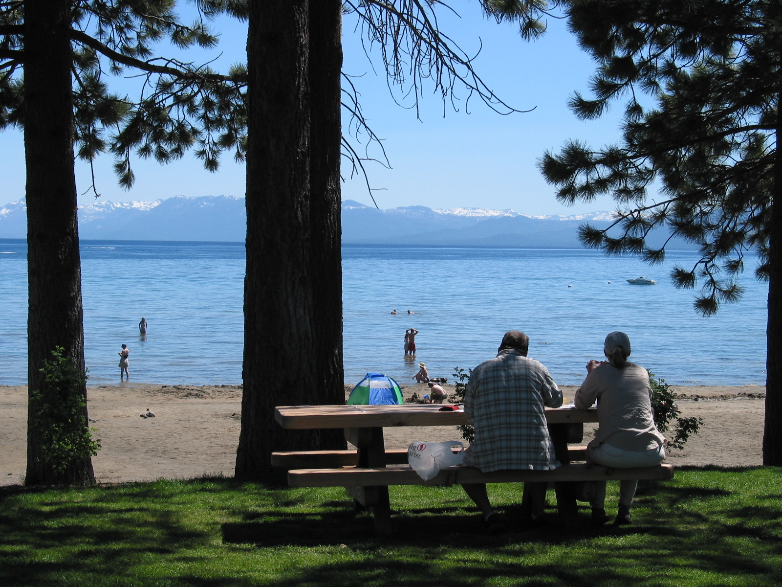 North Tahoe Beach Image 3